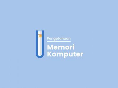 cara kerja memori komputer
