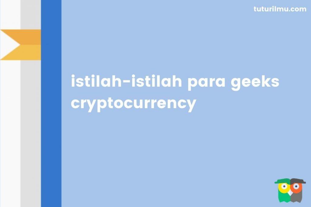 istilah geeks crypto